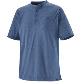 Patagonia Capilene Cool Trail Henley T-shirt Heren, superior blue